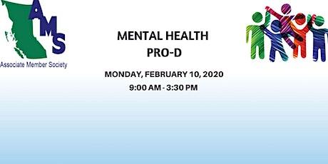 Mental Health Pro-D for AMS member schools tickets