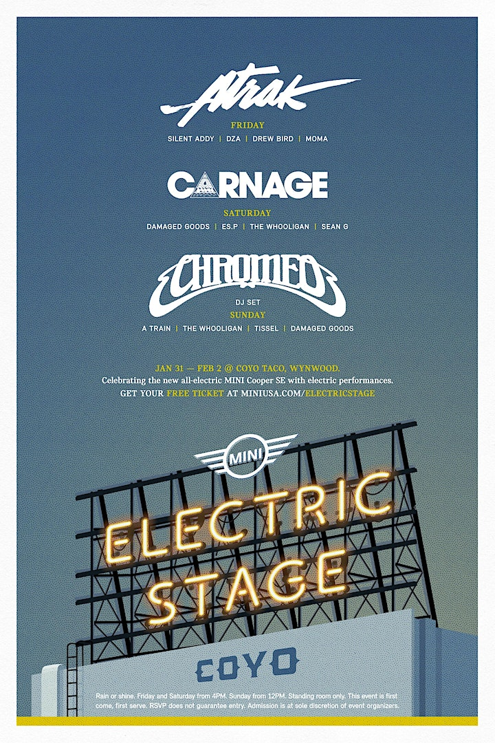 MINI Presents: The Electric Stage image