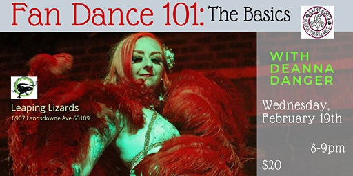 Fan Dance 101: The Basics with Deanna Danger