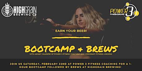Bootcamp & Brews tickets
