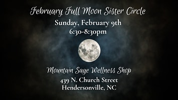 February Full Moon Sister Circle