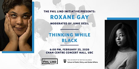 The Phil Lind Initiative Presents:  Roxane Gay tickets