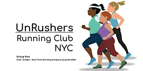 Run with UNRUSHERS Running Club! tickets