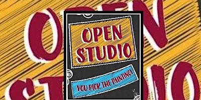 OPEN STUDIO SUNDAY!