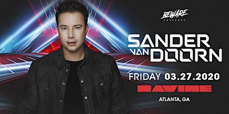 Sander Van Doorn at Ravine tickets