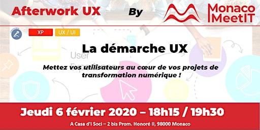 La démarche UX