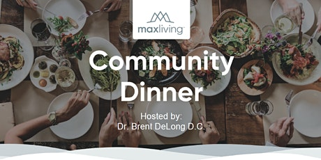 Community Diner with the Doctor tickets