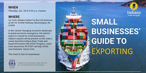 Small Businesses' Guide to Exporting - South Central Indiana