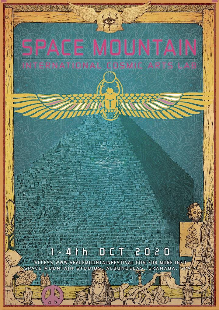 Space Mountain Festival - International Cosmic Arts Lab image
