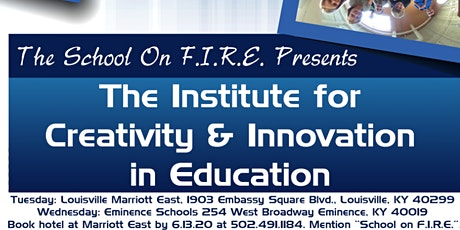 SOFICI 2020 - The School on F.I.R.E. Institute for Creativity and Innovation (Kentucky) tickets