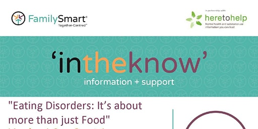 """Introduction to Eating Disorders: It's Not Just About Food"""