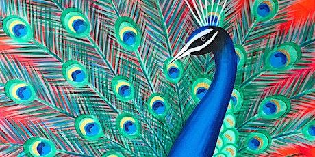 Peacock Parade Brush Party - Knaphill tickets