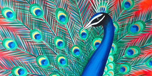 Peacock Parade Brush Party - Knaphill