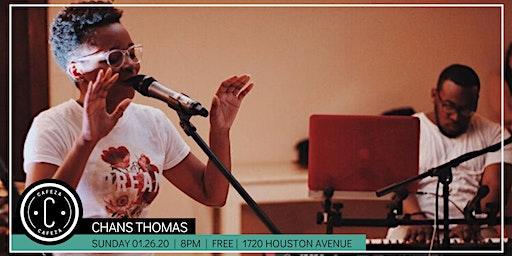 Cafeza Presents - Chans Thomas