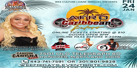 Afro Caribbean Fridays tickets