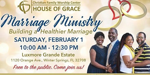 """CFWC """"Mansion"""" Marriage Ministry Event"""