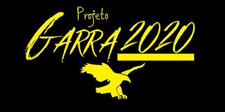 Projeto GARRA 2020: Lançamento Presencial/Online ingressos