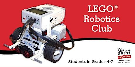 LEGO® Robotics Club (Grades 4-7) - March tickets
