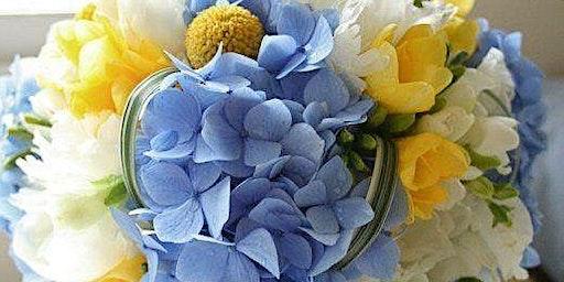 Winter Blues Floral Design