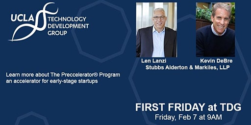 First Friday - Building Companies and Community: The Preccelerator