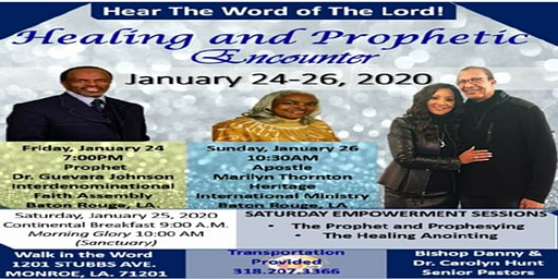 Healing And Prophetic Encounter 2020