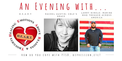 An Evening with... Rachel Austin & Larry Hinkle : How do you cope ?
