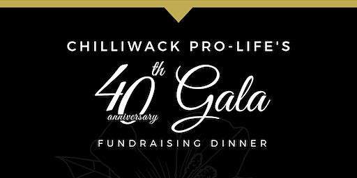 40th Anniversary Fundraising Gala