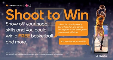 Boost Your Shot – Games and Prizes