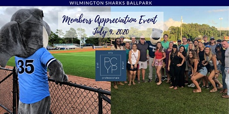 PCYP Members Appreciation Thirsty Thursday at Wilmington Sharks Baseball tickets