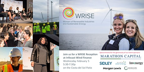 WRISE Reception at Infocast Wind tickets