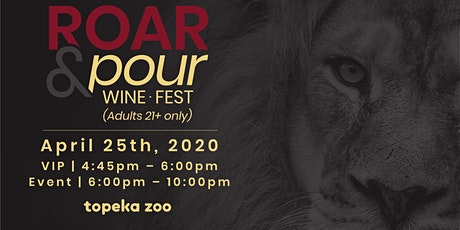 Roar & Pour Wine Fest 2020 tickets