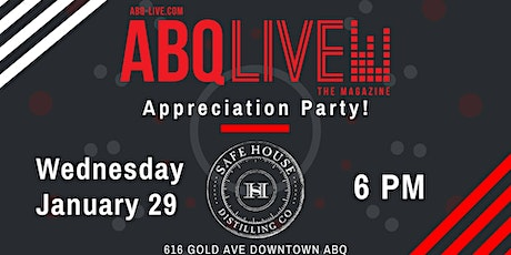 ABQ-Live Appreciation Party and Network Mixer tickets