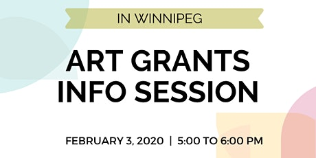 Arts Grants Info Session for Artists and Arts & Cultural Professionals tickets