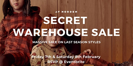 AV NORDEN SAMPLE SALE tickets