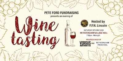 Pete Ford Wine Tasting 2020