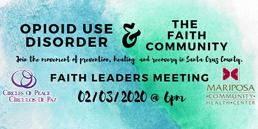Opioid Use Disorder & The Faith Community