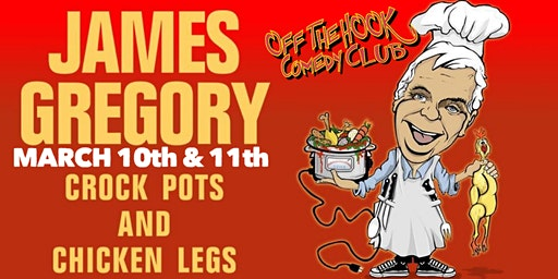 Comedian James Gregory the Funniest Man in the America Live in Naples, Fl