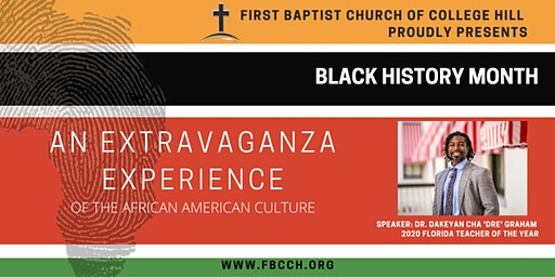 An Extravaganza Experience of the African American Culture