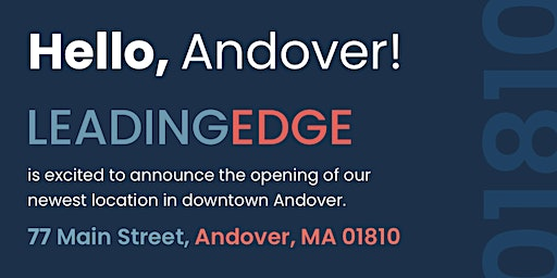 Leading Edge Andover Grand Opening