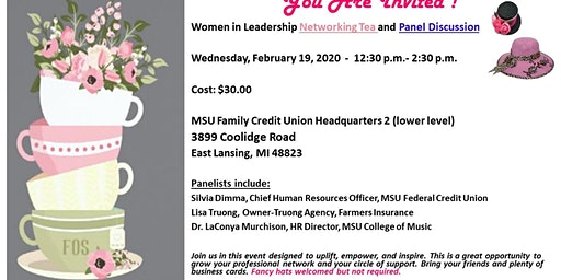 Women In Leadership Networking Tea and Panel Discussion