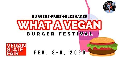 What A Vegan - Burger Festival tickets