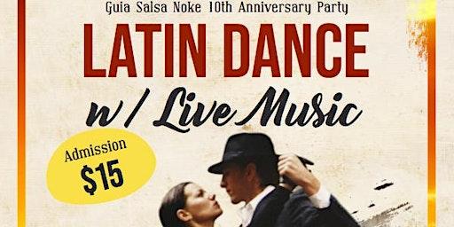 Latin Dance Party Anniversary