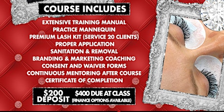 Copy of Lash Extensions 1 Day Course by KThompson tickets