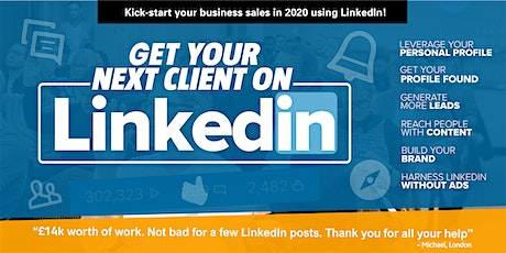 Get dozens of quality clients on LinkedIn– Masterclass 2020-Don't miss it! tickets