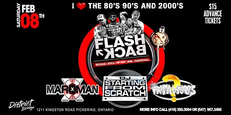 FLASHBACK THE 90's & 2000's PARTY tickets