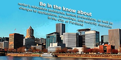 Portland Landlord-Tenant Law Training for Case Managers - Mar 5th 2020 tickets