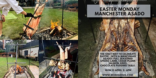 The Easter Feaster : Authentic Lamb Asado & Chocolate Table