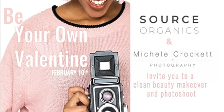 Clean Beauty Makeover and Photoshoot with Source Organics tickets