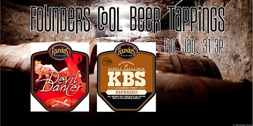 Founders Cool Beer Tapping