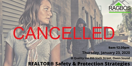 CANCELLED REALTOR Safety and Protection Strategies tickets